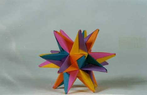 Rona Gurkewitz Modular Origami Polyhedra Systems Page