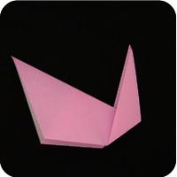 easy paper origami cat