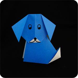 easy origami dog makeorigamicom