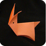 easy origami rabbit