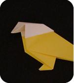 origami inside reverse fold