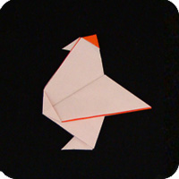 Traditional Origami Chicken