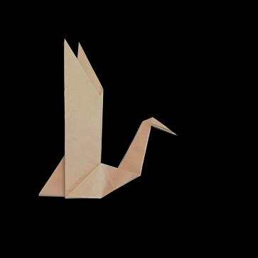 origami goose