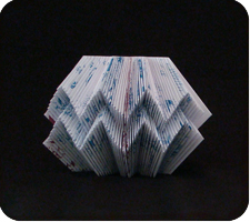 Clamshell Folded Book Art