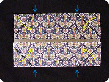 origami magazine box