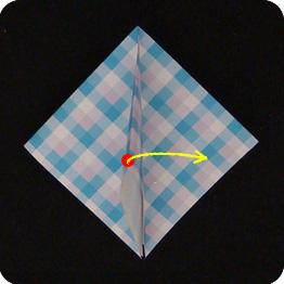 origami vase