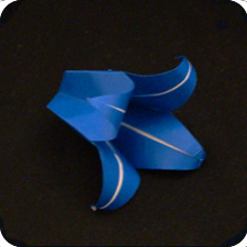 origami bluebell
