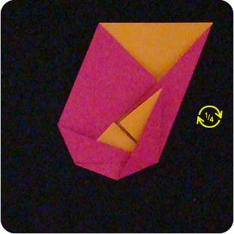origami camellia