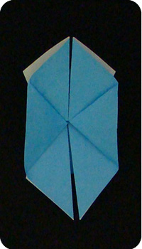 origami cornflower