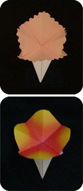 simple origami flower