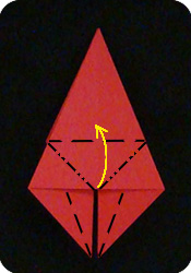 origami petal fold