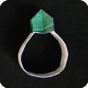 origami paper ring