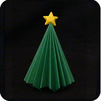 origami evergreen tree