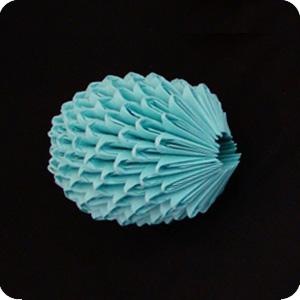 3D Origami Egg