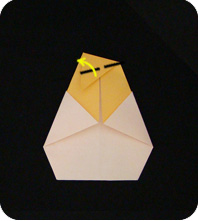 origami chick and egg