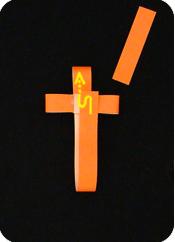 origami paper Easter Cross DIY