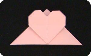 origami paper clip