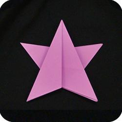 origami paper DIY star