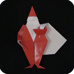 How To Make An Origami Santa Claus-origami Christmas/Santa Claus ... | 250x250