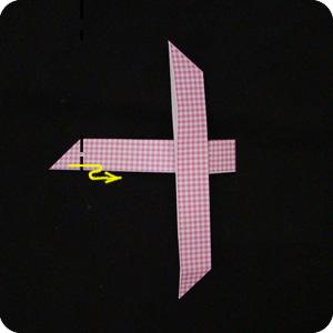 origami paper DIY religious Cross