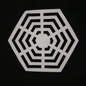 DIY Paper Spider Web