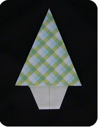traditional origami tree