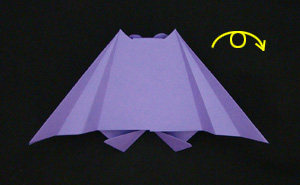 paper origami bat