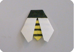 Easy Origami Bee Make Origami Com