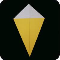 origami kite base