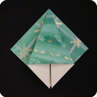 origami squash fold