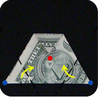 money 6 pointed star