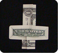 dollar bill money cross