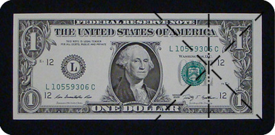 dollar bill arrow