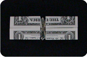 dollar bill ring