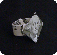 money insignia ring