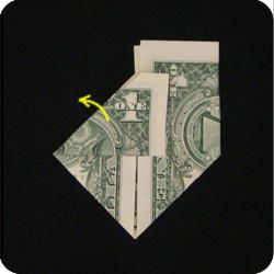 origami money mortarboard