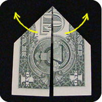 dollar bill origami money ornament
