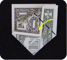 dollar bill origami money sailboat