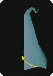 origami saxophone