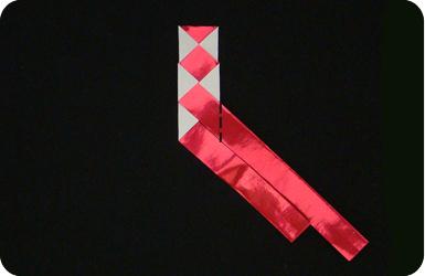 braided bookmark